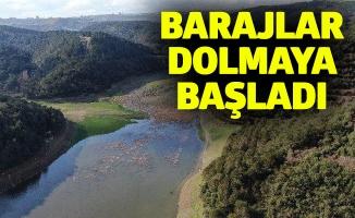 Barajlar dolmaya başladı