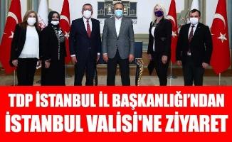 TDP İSTANBUL İL BAŞKANLIĞI'NDAN İSTANBUL VALİSİ'NE ZİYARET
