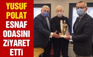 YUSUF POLAT ESNAF ODASINI ZİYARET ETTİ