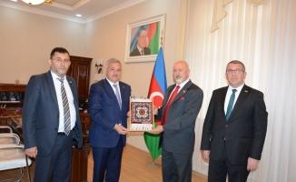 İstanbul Medya Azarbaycan Tartar'ı ziyaret etti