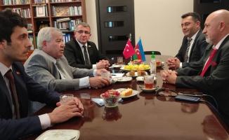 Sabir Rüstemkhanlı Türk gazetecilerle görüştü