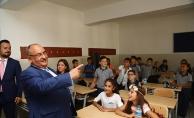 Can; Eğitim-Öğretim Yılının İlk Gününde Öğrencilerle Buluştu
