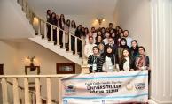 Başkan Şahin, Fransa'daki Türk öğrencilerle buluştu