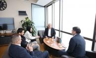 Başkan Hasan Can'dan AK Parti Ümraniye İlçe Başkan Yardımcısı Ebru Saraçoğlu'na ziyaret