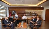 Başkan Hasan Can'a Giresun'dan ziyaret