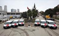 Kartal Belediyesi'nden Kartal İlçe Emniyet Müdürlüğü'ne Araç Desteği