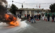 BEY-AFAD'dan yangın eğitimi ve tatbikatı