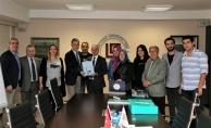 Beykoz Kent Konseyi'nden Beykoz Üniversitesi'ne nezaket ziyareti