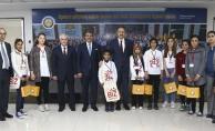 Biz Anadolu'yuz projesi kapsamında öğrenciler ağırlandı