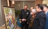 Tuzla'da Yaşlılar Merkezi'nden sergi