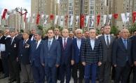 ATAŞEHİR'DE 19 MAYIS RESMİ TÖRENLE KUTLANDI