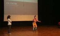 Öğrencilere yönelik çevre tiyatrosu sahnelendi