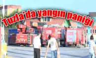 Tuzla'da yangın paniği