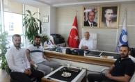 AK Parti Sancaktepe İlçe Gençlik Kolları'ndanÖzulaş Başkanı'na hayırlı olsun ziyareti
