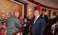 Başkan Hasan Can, Gaziler ve Şehit Aileleriyle bir araya geldi