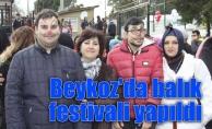 Beykoz'da balık festivali yapıldı