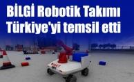 BİLGİ Robotik Takımı Türkiye'yi temsil etti