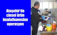 Ataşehir'de cinsel ürün imalathanesine operasyon