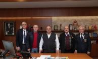 Kıbrıs Gazilerinden Başkan Hasan Can'a ziyaret
