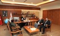 Mali Müşavirler Derneği'nden Başkan Hasan Can'a ziyaret
