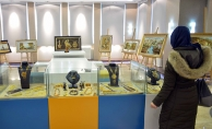 Tuzla'da Kehribar Resim ve Marküteri Sergisi