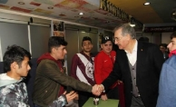 AK Parti'nin Kartal Adayı Taşyürek, esnaf ve dernek ziyaretlerinde bulundu