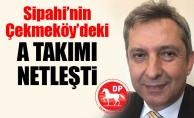 Sipahi'nin Çekmeköy'deki A takımı netleşti