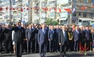 18 Mart Şehitler Günü Kapsamında Atatürk Anıtı'na Çelenk Sunuldu
