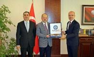 Marmara Üniversitesi Rektöründen Nezaket Ziyareti