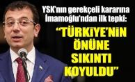 """YSK'nın gerekçeli kararına İmamoğlu'ndan ilk tepki:""""Türkiye'nin önüne sıkıntı koyuldu"""""""