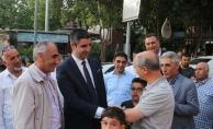 Başkan Yüksel, Yakacık Çarşı Mahallesi'nde vatandaşlarla buluştu