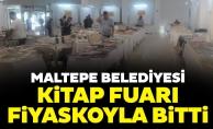 Maltepe Belediyesi Kitap Fuarı Fiyaskoyla Bitti