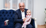 Ümraniye'de Yeni Doğan Bebeklere Hoş Geldin Ziyareti
