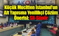 Küçük Mucitten İstanbul'un Alt Yapısına Yenilikçi Çözüm Önerisi: Sil-Süpür