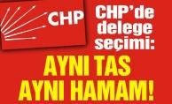 CHP'de delege seçimi: Aynı tas aynı hamam!