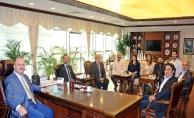 Kent Konseyi'nden Kaymakam Dallı'ya Nezaket Ziyareti
