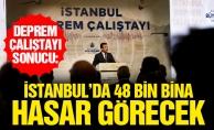 Deprem çalıştayı sonucu:İstanbul'da 48 bin bina hasar görecek