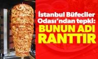 İstanbul Büfeciler Odası'ndan tepki:Bunun adı ranttır