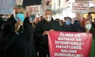 Kadıköy esnafı: Ölmek de batmak da istemiyoruz