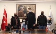 Mucize Çocuk Azra'dan Başkan Gökhan Yüksel'e Ziyaret