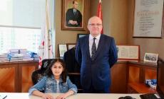 Ataşehir'in 23 Nisan'daÇocuk Belediye Başkanı Oldu