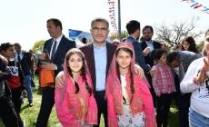 Çocuklar, 23 Nisan Bayramı'nı Üsküdar'da Sınırsızca Eğlenerek Kutladı