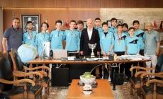 Ümraniye Yamanspor Kulübü'nden Başkan Yıldırım'a Ziyaret