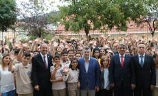 Başkan Keskin Namık Kemal Ortaokulu'nu Ziyaret Etti