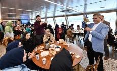 Tenzile Erdoğan Kız Anadolu İmam Hatip Lisesi Valide Sultan Gemisi'nde