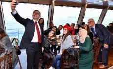 Valide Sultan Gemisi'nin Konuğu Zeynep Kamil Mesleki Ve Teknik Anadolu Lisesi Oldu