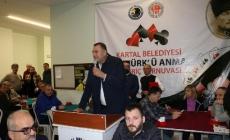 Atatürk'ü Anma 10. Briç Turnuvası Kartal'da Gerçekleştirildi