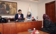 Başkan Gökhan Yüksel, Kartallı Vatandaşları Makamında Misafir Etti