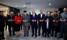 Başkan Yıldırım, Tezhip Sergisinin Açılışını Yaptı