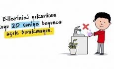 """İmamoğlu'ndan """"Su Tasarrufu"""" Kampanyası"""